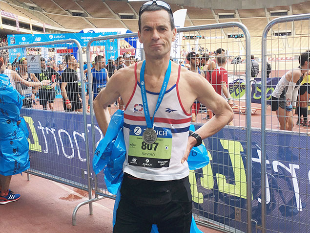 On The 19th Of February At Seville Marathon In Spain Steve Smythe 58 Did Something That He Has Done Dozens Times Before Ran Sub 300 For A