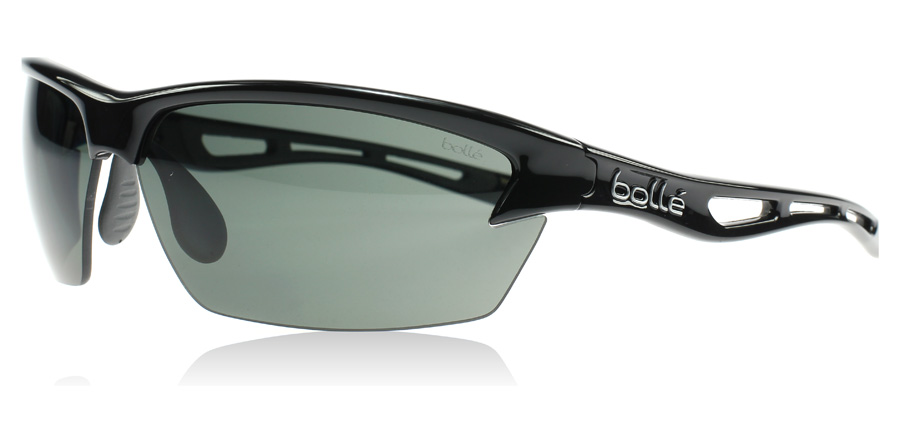 bolle bolt satin crystal smoke running sunglasses
