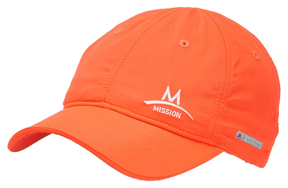 best running caps and hats - mission