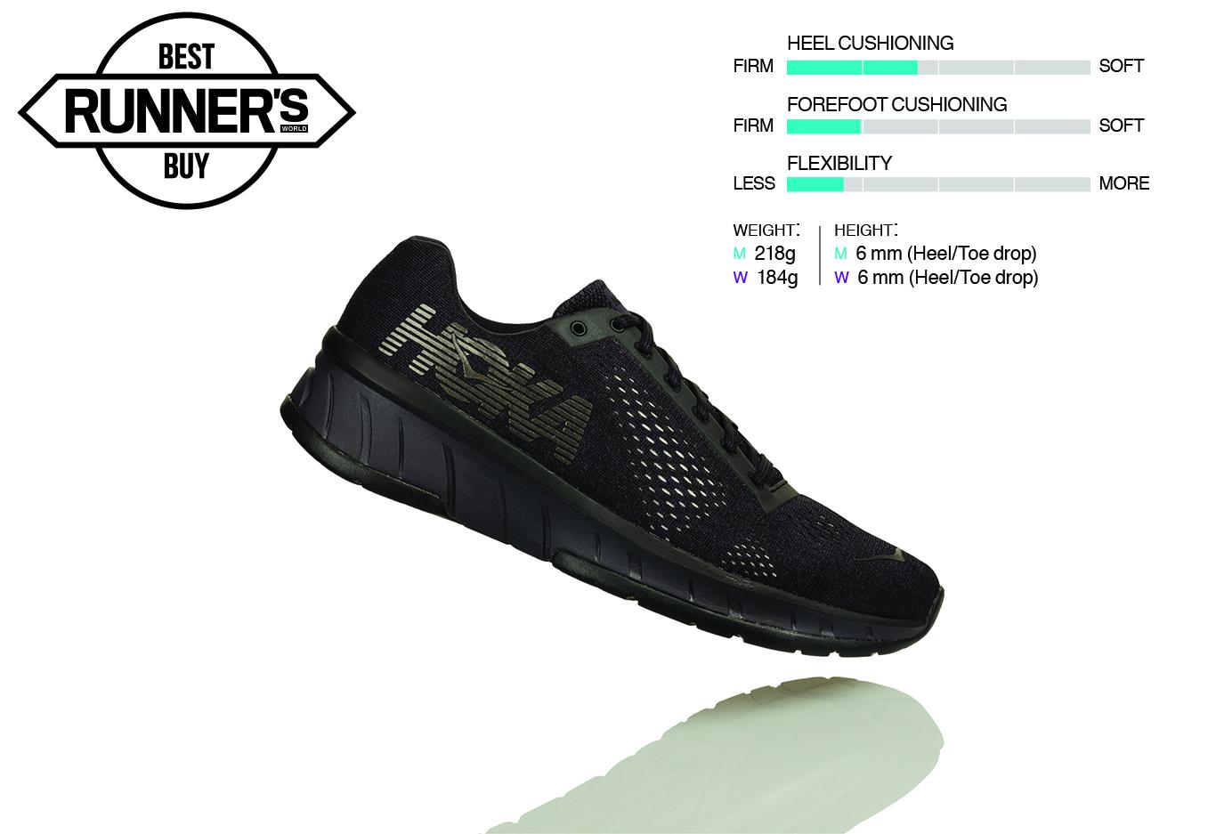 Best running shoes 2018 - Hoka One One Cavu