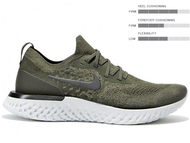 best running shoes 2018 - nike epic react flyknit