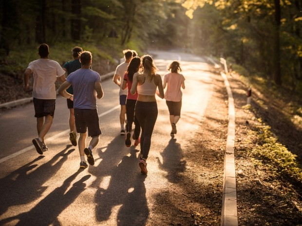 Running makes you a happier person, new research confirms