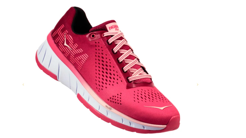 best womens running shoes - hoka one one cavu