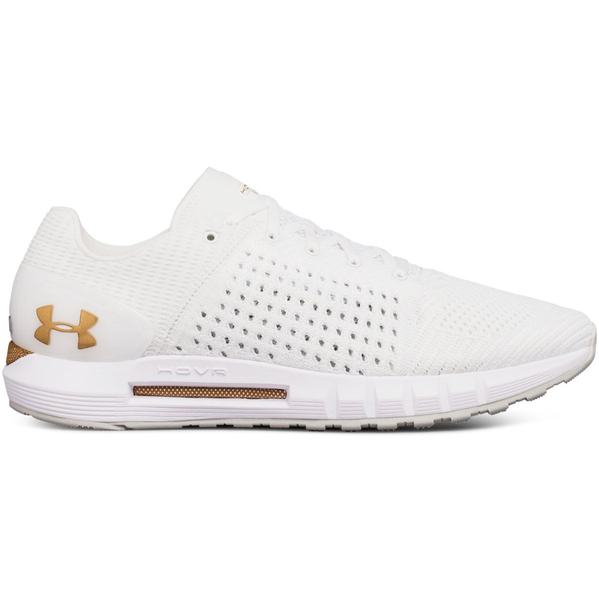 all white running shoes under armour