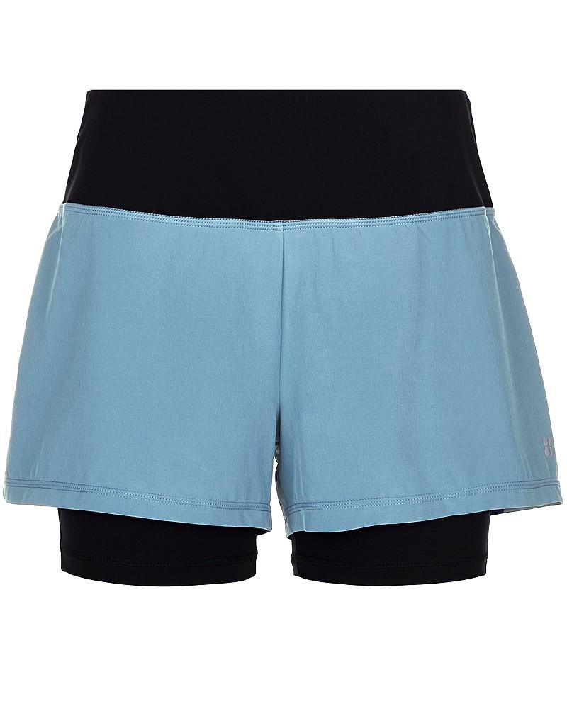 cheap running kit - sweaty betty 2 in 1 shorts