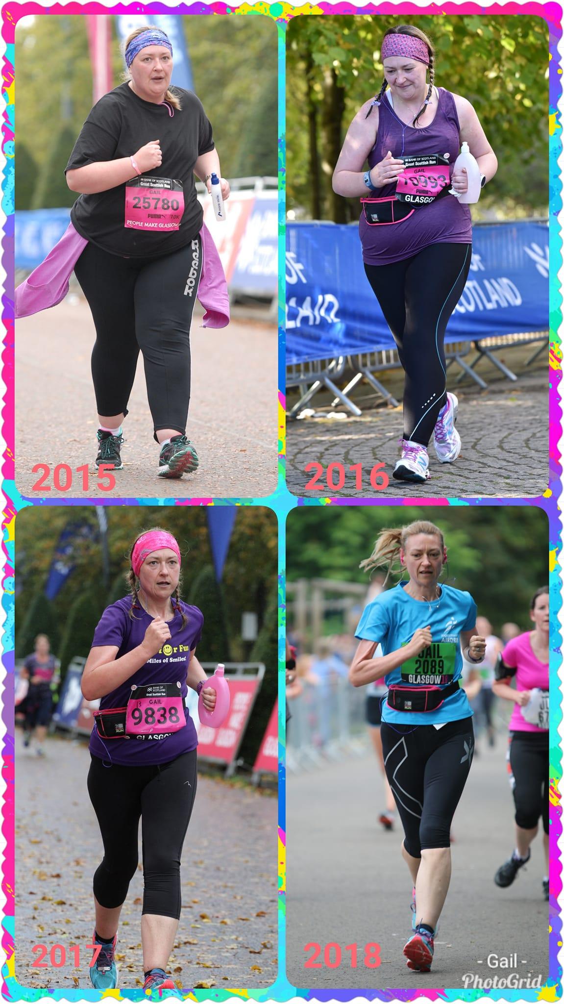 weight loss running