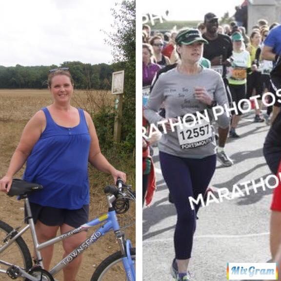 weight loss running - body transformation