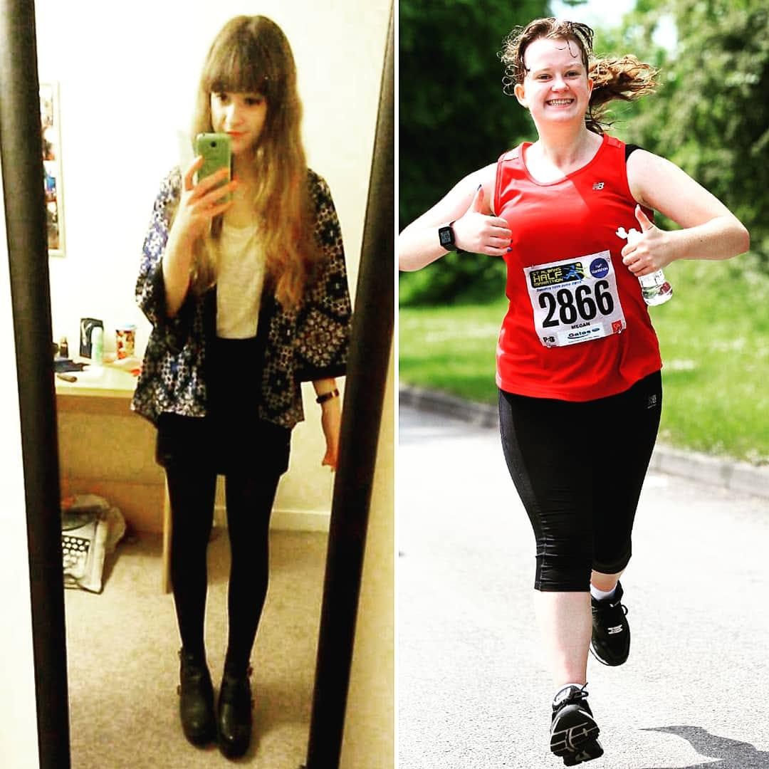 running body transformations