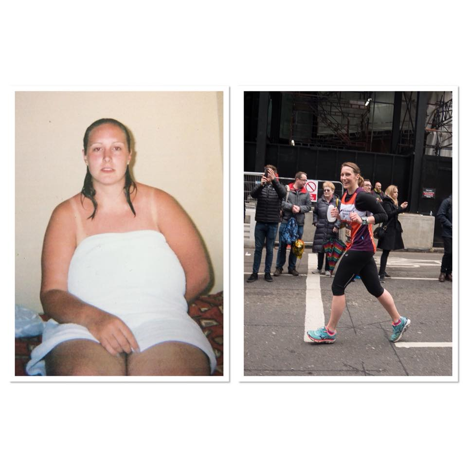weight loss running transformation