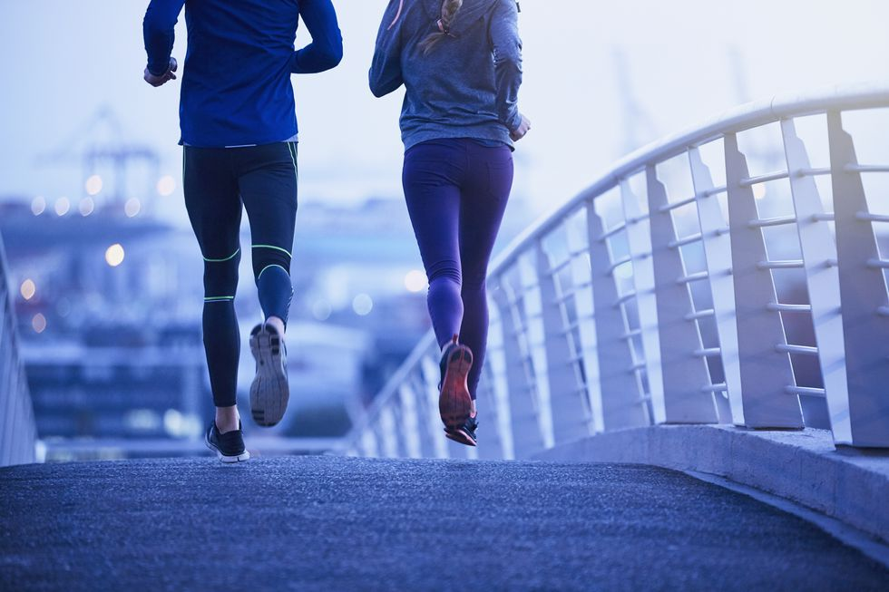 Does running always burn more calories than walking?