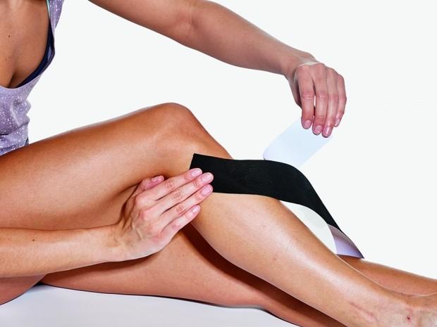 how to tape your legs - shin splints