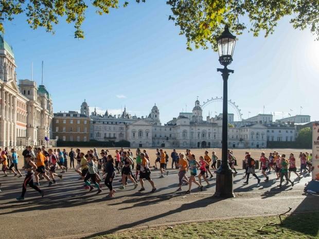 best half marathons october - Royal Parks