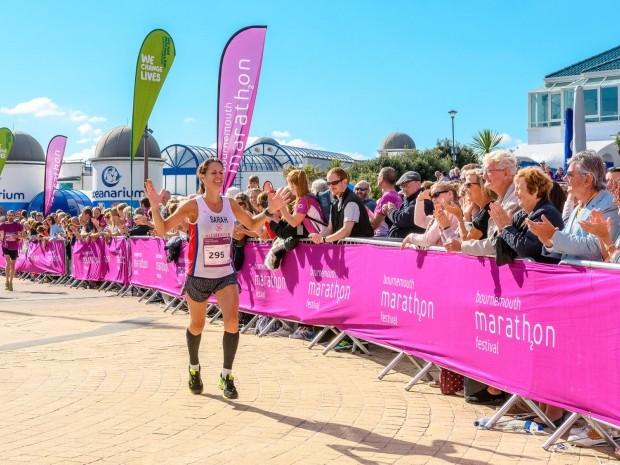 best half marathons october - bournemouth half marathon