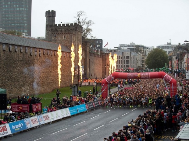 best half marathons october - cardiff half marathon