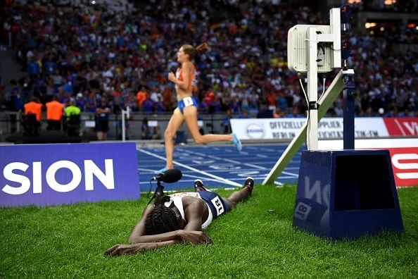 Lonah Chemtai Salpeter stops running too early