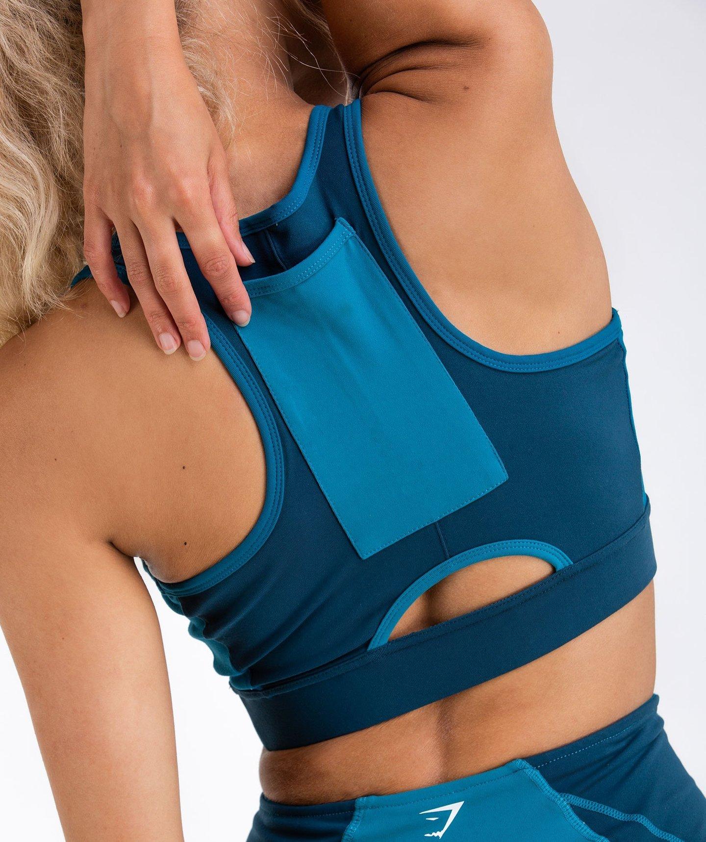 best sports bras with pockets