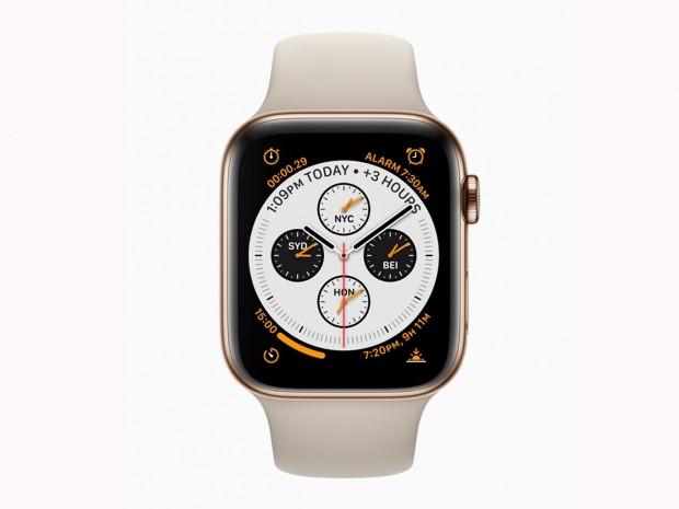 apple watch series 4 running