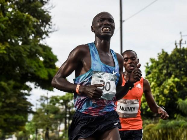kenyan runner Joseph Kiprono Kiptum