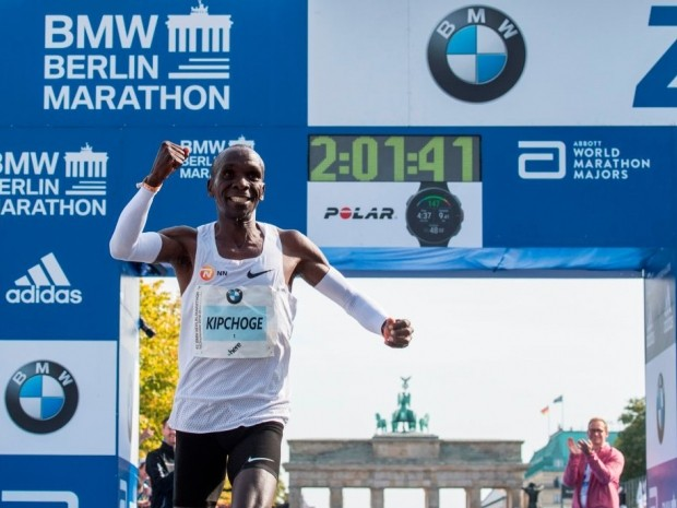 kipchoge says his marathon record will be broken