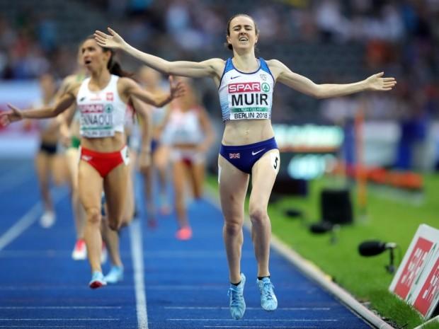 Laura Muir training and food diary