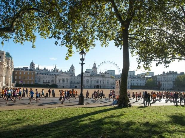 Recycle my run initiative at Royal Parks