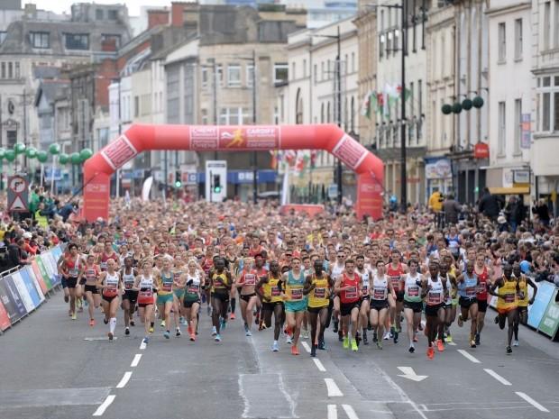 Two runners die cardiff half marathon