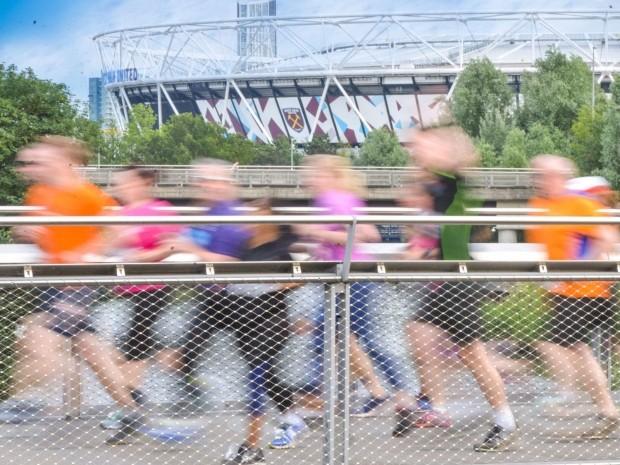 new Olympic park half marathon