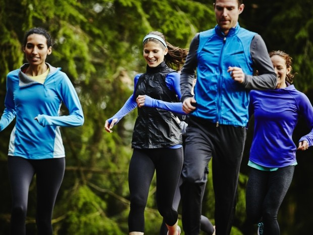 why you should smile when you're running