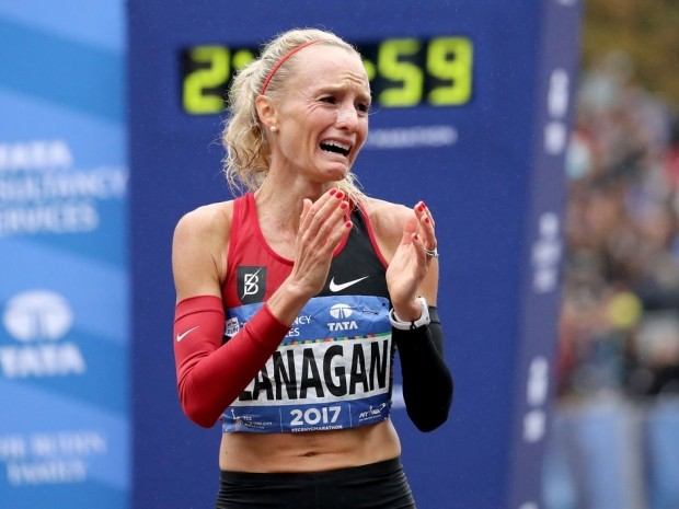 why do people cry during marathons?