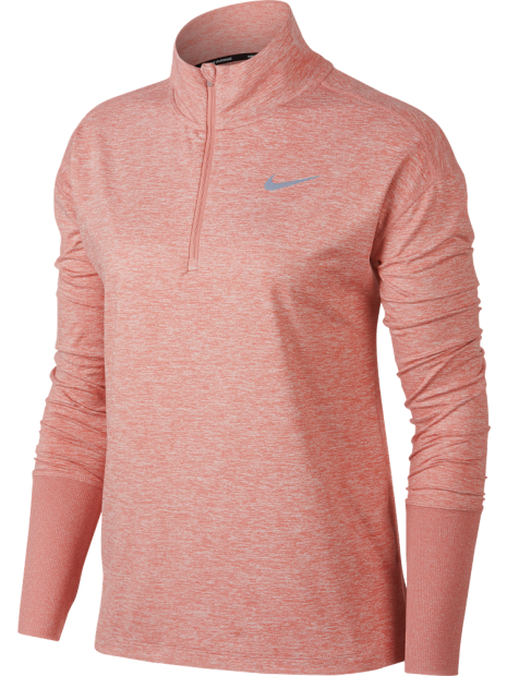 best winter nike running kit - nike element women's half zip