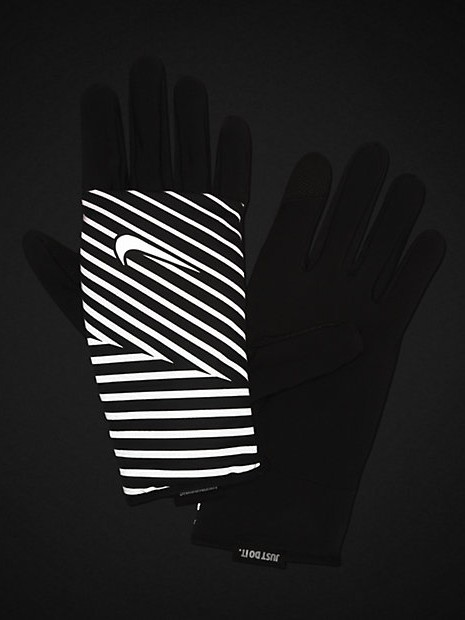 best nike winter running kit - quilted running gloves