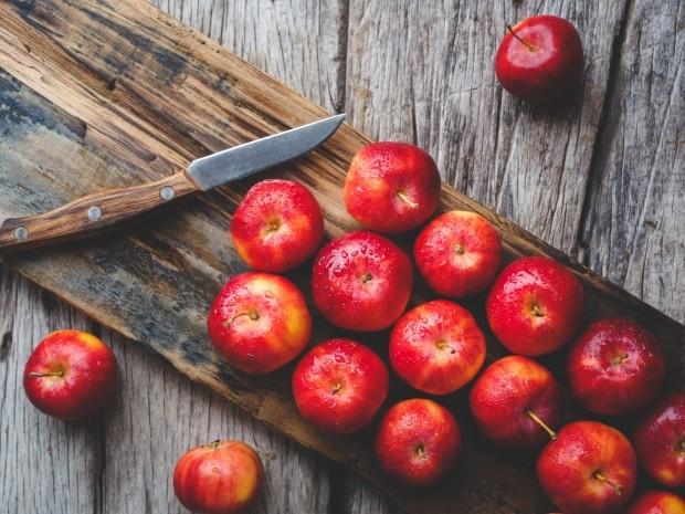 what runners should eat in the winter - apples