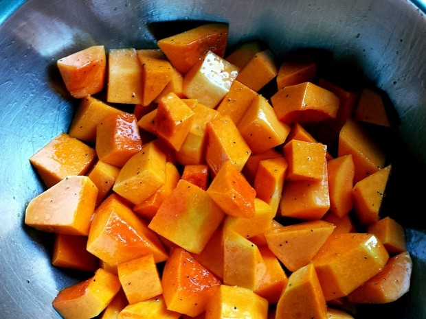 what runners should eat in the winter - butternut squash
