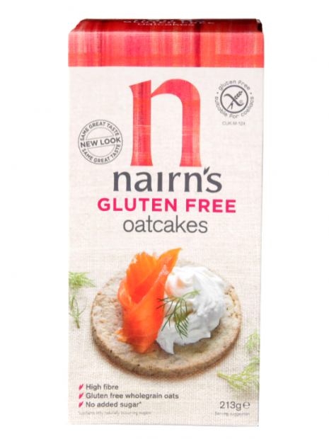best food for gluten-free runners - nairn's oatcakes