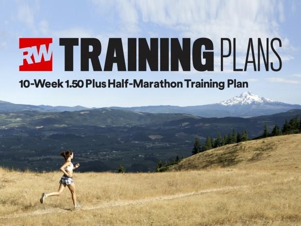 10 week 1.50 plus half marathon training plan