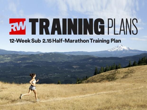 12 week sub 2.15 half marathon training plan
