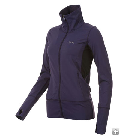 The ladies fitness jacket is exceptionally good value for a jacket and I  was very impressed by both its comfort and fit. Thumb loops and a chin  guard are a ...