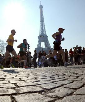 Paris Marathon - Runner's World Super Six