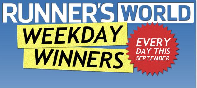 Runner's World Weekday Winners