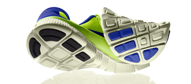 Nike Free 5 flexible midsole