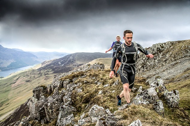 The event, held in Lake Buttermere, promises to be a true test of strength against the open water and the trail.