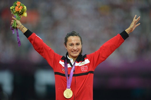 Alptekin has been stripped of her London 2012 title after Cas approved a settlement reached with the IAAF. Photo: Getty Images