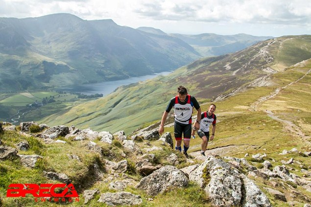 Participants tackle the hills surrounding Lake Buttermere during the 2015 event. Photo credit: Paul Mitchell
