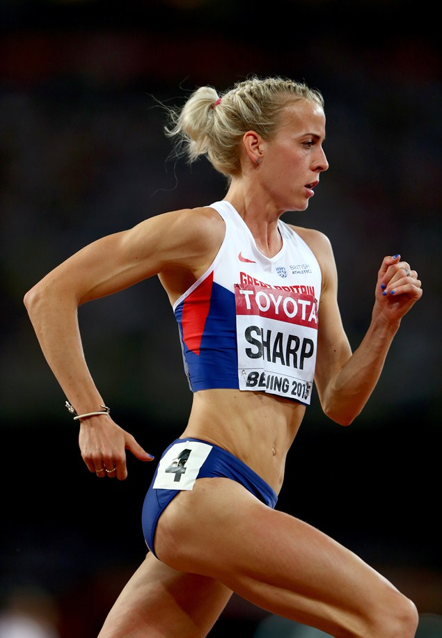 Sharp competing in the 800 metres semi-final at the IAAF World Athletics Championships 2015. Photo: Getty Images