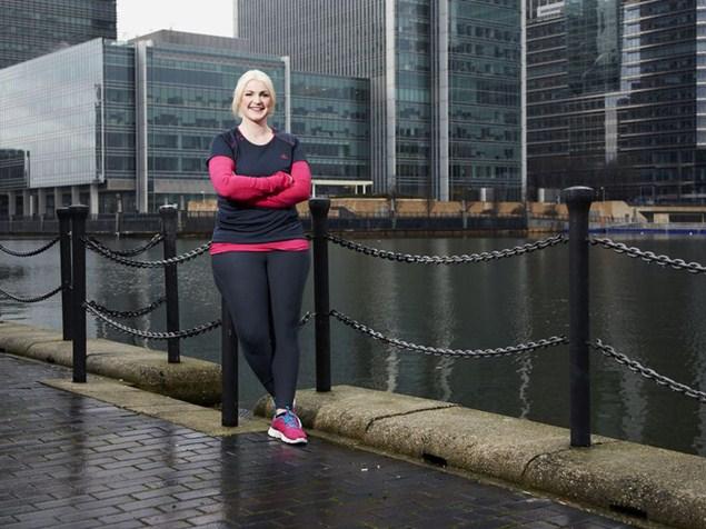 Ruth Davison overcame a horrific injury to run three marathons. Photo: Ben Knight