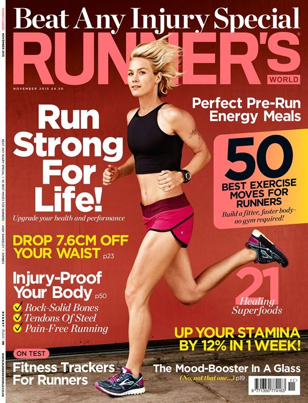 Runner's World November 2015 issue