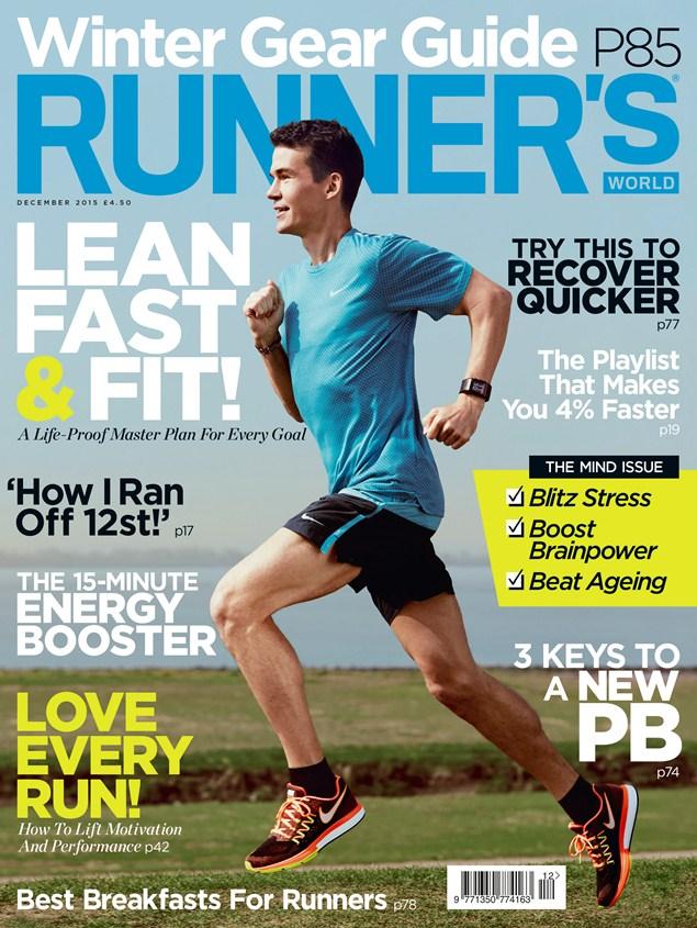 Runner's World December 2015 issue