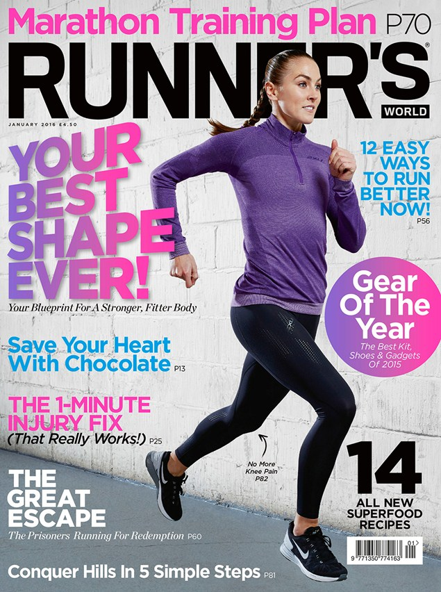 Runner's World January 2016 issue