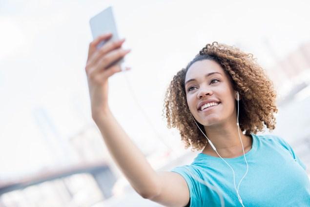 Image result for running selfie