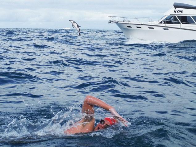 Adam Walker takes on the ocean.